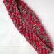 Crimson red bobble headband