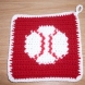 Play Ball Potholder
