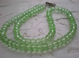 Green Ocean Czech Glass beads. Just so LOVELY!!!!