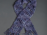 Lady's Blue Scarf