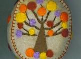 Fall Tree Pincushion