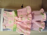 Baby Girls two piece twirl top and bottoms