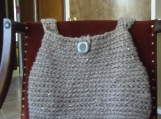 Boho Chic Retro Hobo Style Bag/Tote..hand crocheted