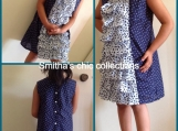 Summer dress cotton-girls 5 to 6 years age