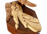 Angel Wooden Puzzle Box