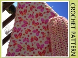 PDF Pattern -Reversible Chunky Baby Blanket -Easy-For all Levels