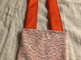 Lace Cross Over Body Handbag