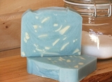 Blue Moon, scented handmade cold process soap