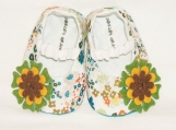 Floral Mary Jane Baby Booties, 0 - 18 Months