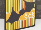 Bat Halloween Card