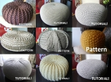 9 Knitted and Crochet Pouf Patterns