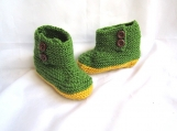 Kids Knitted Booties