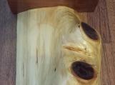 Rustic Home Decor, Cedar log one of a kind, natural wood, wall shelf