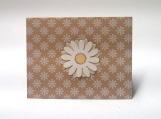 Daisy Note Card Keepsake