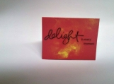 Delight in Every Moment Note Card Keepsake