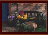 Autumn Bench Cross Stitch Pattern
