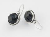 Earrings 925 Sterling Silver Rosecut Onyx Earrings 100% Solid Fashion For Gift