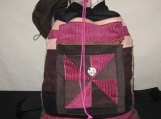 Hippie at the Heart Patchwork Backpack