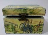 Handmade Wooden Sea box.