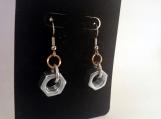 Industrial Earrings, Hardware Earrings