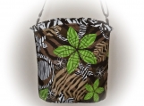 Tootles Boutique Bag - Crossbody Animal Print Designer Fabric