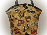 Tootles Boutique Bag - Fashionista Designer Fabric