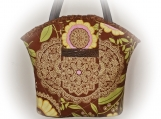 Tootles Boutique Bag - Lotus Amy Butler Designer Fabric
