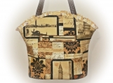 Tootles Boutique Bag - Michael Miller Venice Designer Fabric