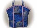 Tootles Boutique Bag - Oriental Asian Designer Fabric