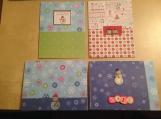 """Simply Snowmen"" Card Set"