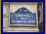 Champs Elysees Cross Stitch Pattern