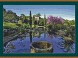 Summer Garden, France Cross Stitch Pattern