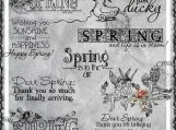 Spring is in the Air Digi Image and Word Art Set