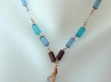 Beach Glass Pendant Necklace