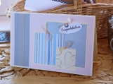 Lavender, Blue and Silver Wedding Present Card