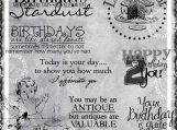 Happy Bday 2 You Digi Image and Word Art Set