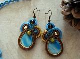 Soutache earrings - Tarika