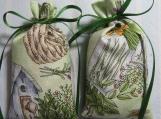 "Green 3""X2"" Sachet-'Spring Blossom' Fragrance-Cindy's Loft-604"