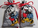 "Mickey/Minnie 3""X2"" Sachet-'Apple&Clover'Scent-Cindy's Loft-405"