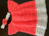 Baby Summer Dress with matching Headband