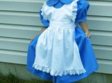 Handmade Alice In Wonderland Costume Stag Play/Dance Dress Set