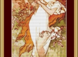 Spring Cross Stitch Pattern