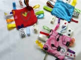 Baby's Tag Blankets