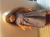 "Lavender American Girl Dress / 18"" doll"