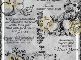 """Rosh Hashanah"" Digi Image and Word Art Set"