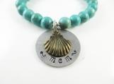 Turquoise mom bracelet  (sm)
