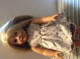 Two piece American Girl Doll outfit