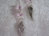 Angel Wings Ear Threader Earrings