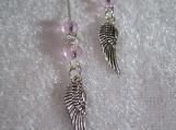 Angel Wings Ear Threader Earrings