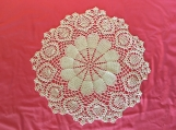 02 Crocheted Doily